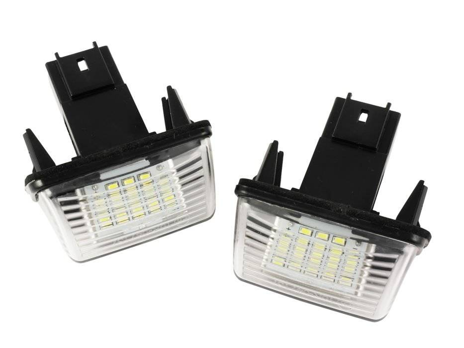 P037s28 Podświetlenia Tablicy Rejestracyjnej Led Peugeot 206 207 306 307 308 406 407